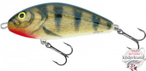 Salmo - Fatso - 10cm sinkend - Emerald Perch