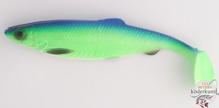 Savage Gear Gummifisch Kunstköder LB 4D Herring Shad 19cm 45g Perch