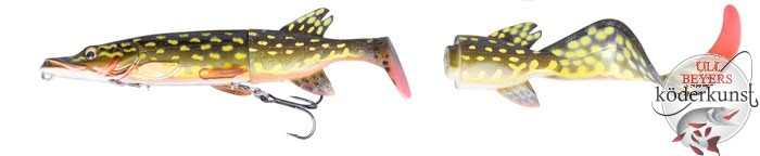 Savage Gear - The 3D Hybrid Pike - Yellow Pike