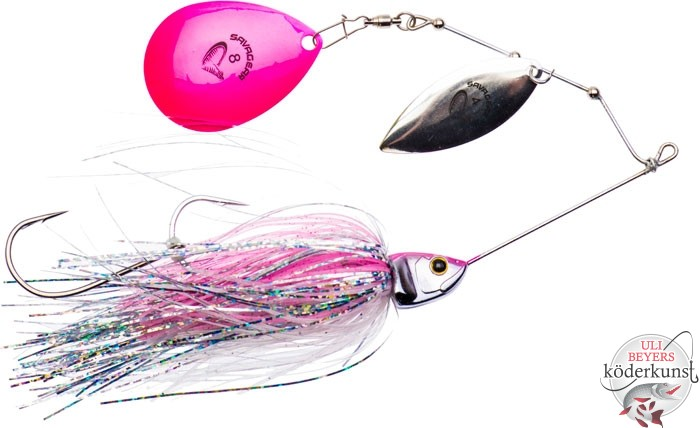 Savage Gear - Da'Bush Spinnerbait - Pink Flash