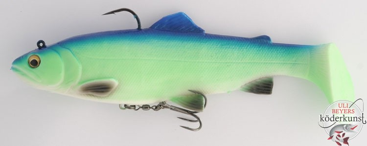 Savage Gear - 4D Trout Rattle Shad - 04UBS