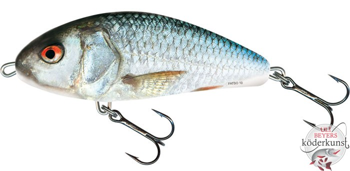 Salmo - Fatso - 10cm sinkend - Real Dace