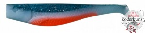 Illex - Dexter Shad UV - Blue & White Orange Belly