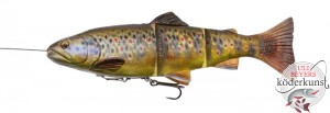 Savage Gear - 4D Line Thru Trout - Dark Brown Trout