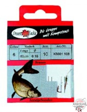 Dream Tackle gebundene Haken - Brassen
