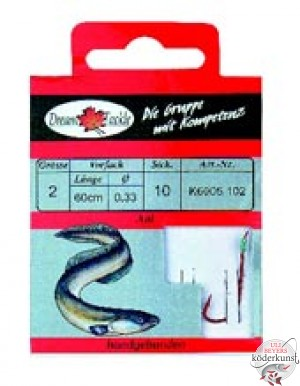 Dream Tackle gebundene Haken - Aal