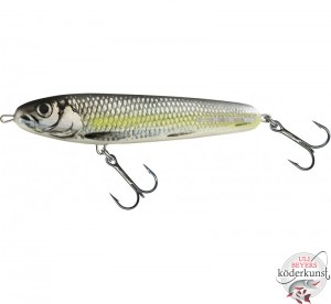 Salmo - Sweeper - Silver Chartreuse Shad